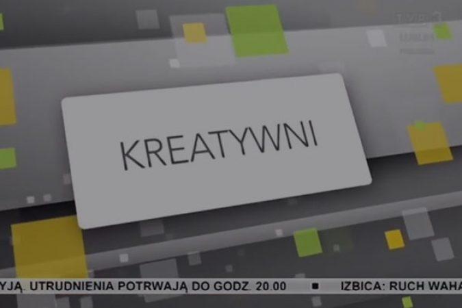 TVP3 Kreatywni – Tomasz Gomoła o swojej pasji